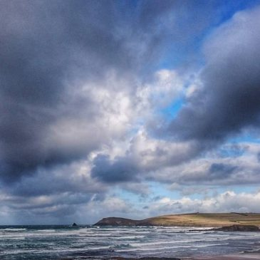 Crazy start to the day #constantinebay #trevosehead #Padstow