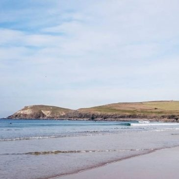 Perfect little day down at the bay #boobysbay #trevosehead