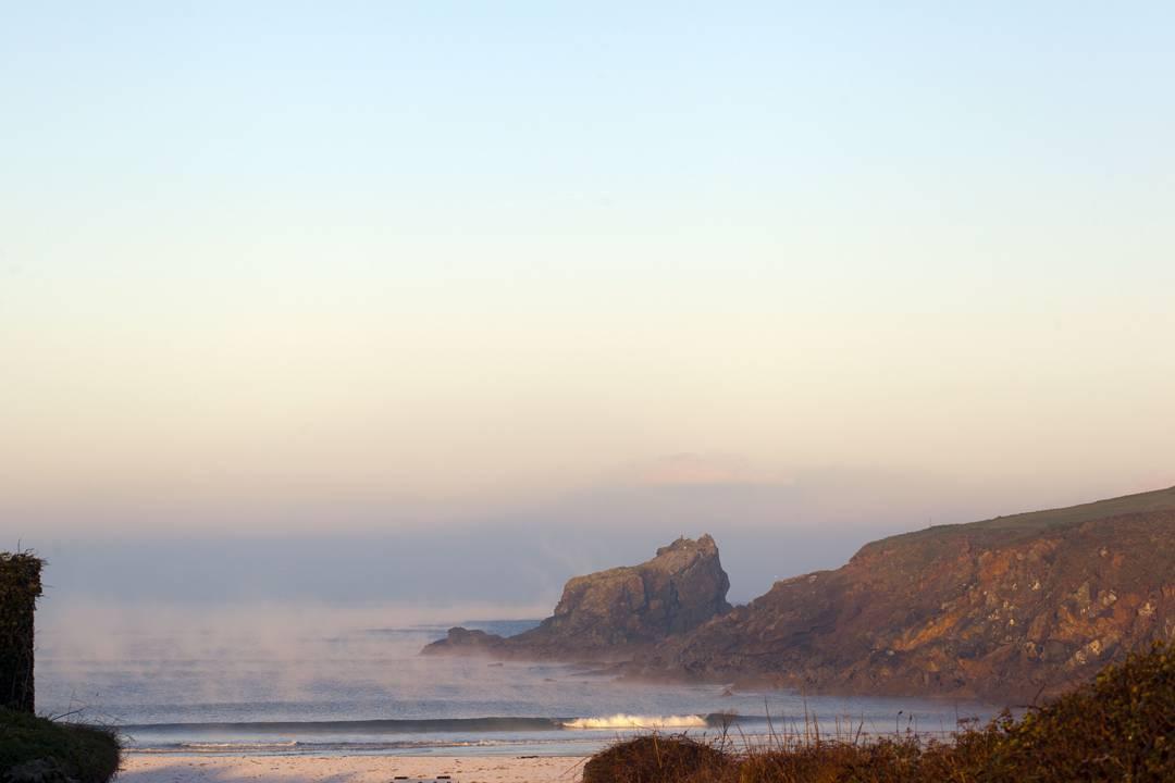 Cornish morning. At home in #trevone #trevonebay