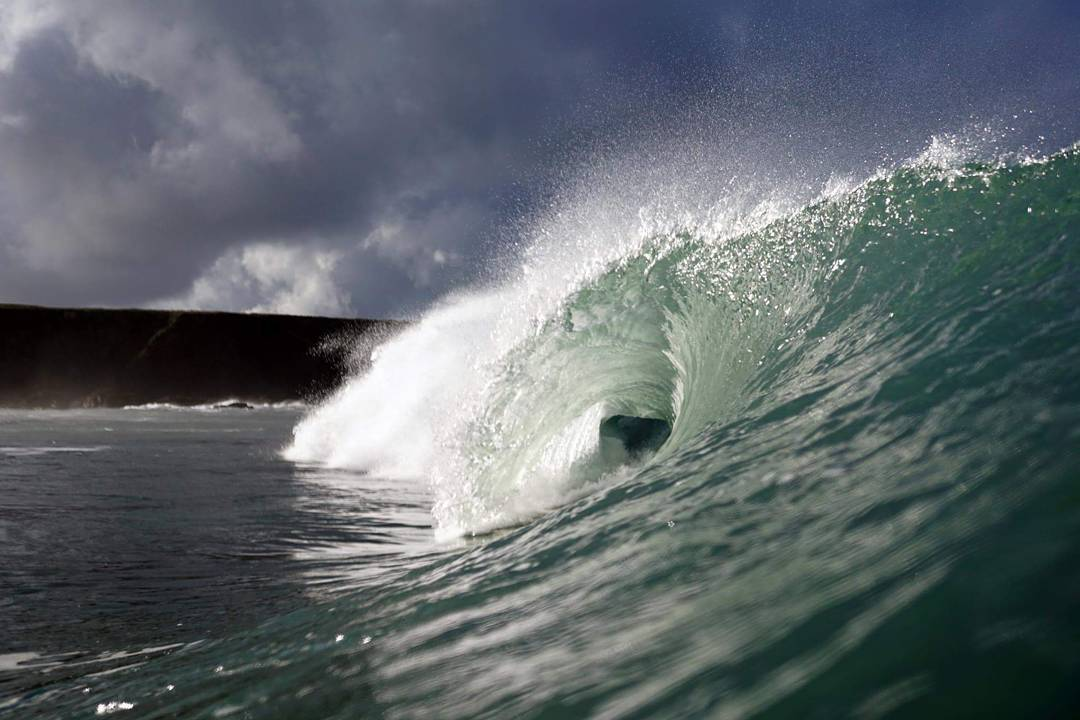 Another day of great waves and the best photo I've taken in a long time