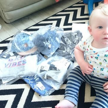 It's been daddy daycare this week at Constantine bay surf school. I ran out of clean clothes so went on a shopping spree.