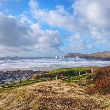 Winter still has some teeth – another blowy day in North Cornwall