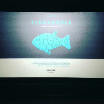 Just got back from @patagonia @patagonia_surf new movie #fishpeople such a good watch and great q&a with @kimi_swimmy that shark story was nuts