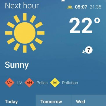 Stay sun safe in Cornwall, it's going to be scorching