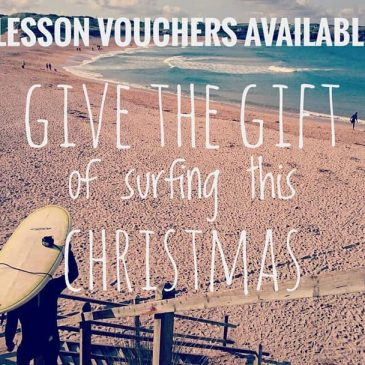 Surf Lesson vouchers – the perfect Christmas gift – email or direct message for details.