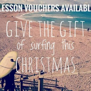 It's the big run to Christmas. Give the gift of surf and email us at constantinebaysurfschool@gmail.com