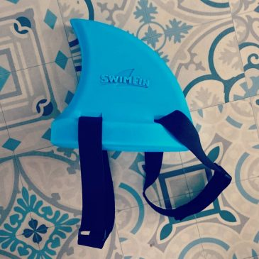 Sophie and I can't help but buy stuff for the boy, how cool is this, watch out swimming pools, do you think you can wear it surfing @swimfingb
