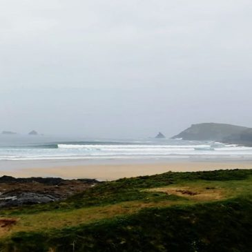 If the surf stays like this I'm never going to get any work done