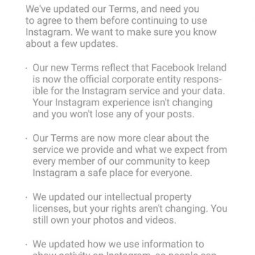So what's to go with Ireland, skipping tax or less pressure for sketchy data mining