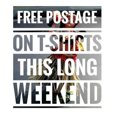 Get free postage on our #surfschool T-shirts this bank holiday weekend, just click go to the shop on our website, no code needed
