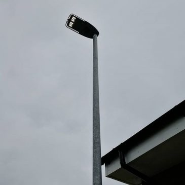 A guy just came around and turned all the street lamps on in our estate?