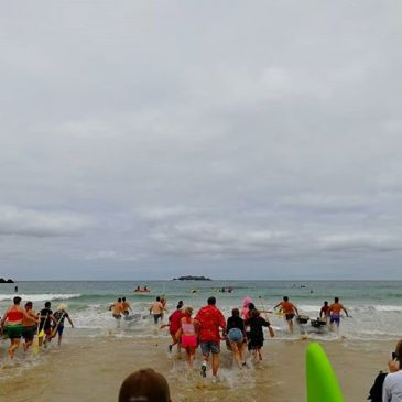 Another crazy #raftrace day for #harlynslsc