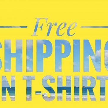 Free shipping on our tshirts has started. Running till midnight sunday https://constantinebaysurfschool.teemill.com