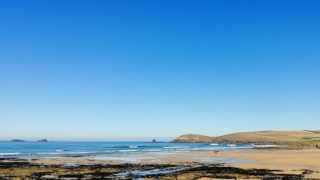 Love a good September day. #constantinebay #surfschool #padstow #cornwall #surf #autumn