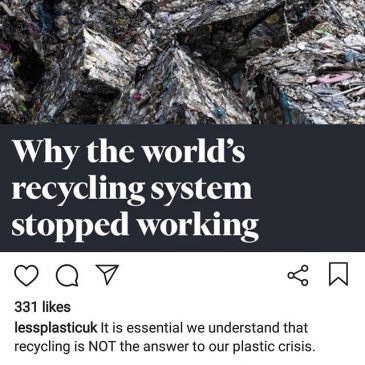 Recycling isn't great, just use less plastic #dontbelievethehype