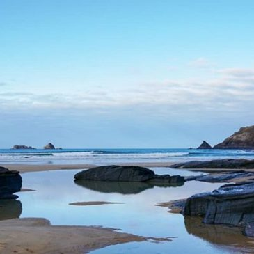 The full #kernowfornia #winter vibes down the #beach today.