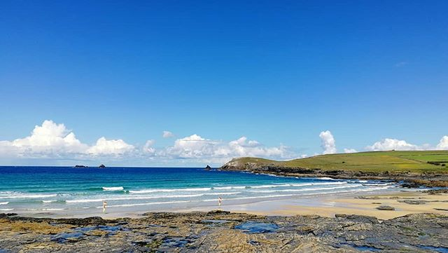 Turned out nice #constantinebay #surfschool #trevosehead #nationaltrust #surfcheck #padstow #cornwall #cornwallsurf #cornwallcoastpath #trevosegolfclub