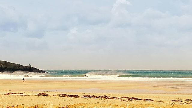 Had a couple of days of great waves at harlyn, feels a bit like winter but a lot warmer.