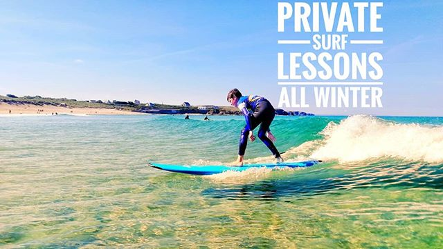 We run private (1on1 &  group) surf lessons all winter. Gift vouchers are also available all year. #learntosurfcornwall #Cornwall #constantinebaysurfschool #padstow #padstowchristmasfestival