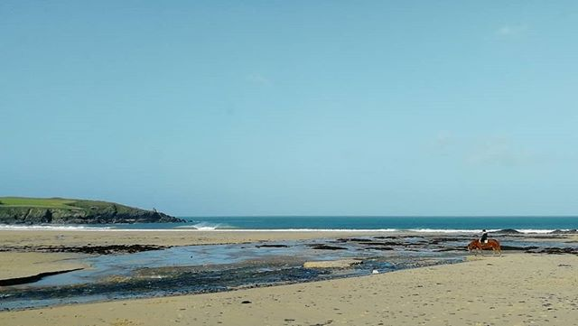 Harlyn dream scene. A few diamonds on the low tide today and should be pretty good as the tide is pushing in