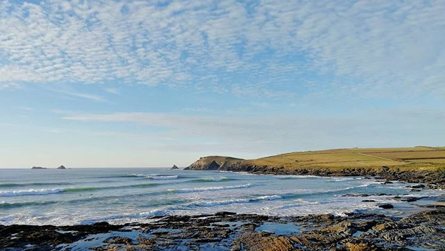 A perfect January weekend here in #cornwall #wintersurfschool #winterweekendwarriors