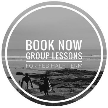 We are running group surf lessons over the February half term school holidays. Book now to join a group lesson or have a tailored private lesson. Email for details.