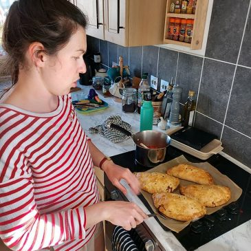 Stay at home and make a pasty