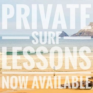 Private surf lessons now available for 1 on 1 up to groups of 5. Take this opportunity to develop your skills or jump into surfing for the fist time with exclusive private lessons.