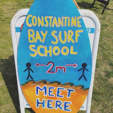 Just trying to keep its safe and simple.  #learntosurf #surfcornwall